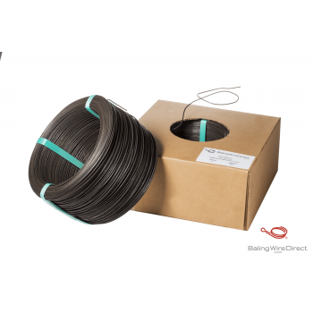 9 Gauge Black Annealed Box Wire
